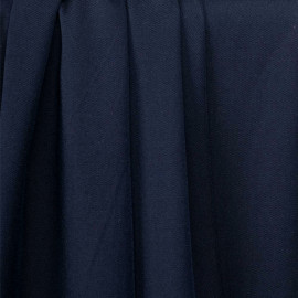 Tissu proviscose bleu nuit- pretty mercerie - mercerie en ligne