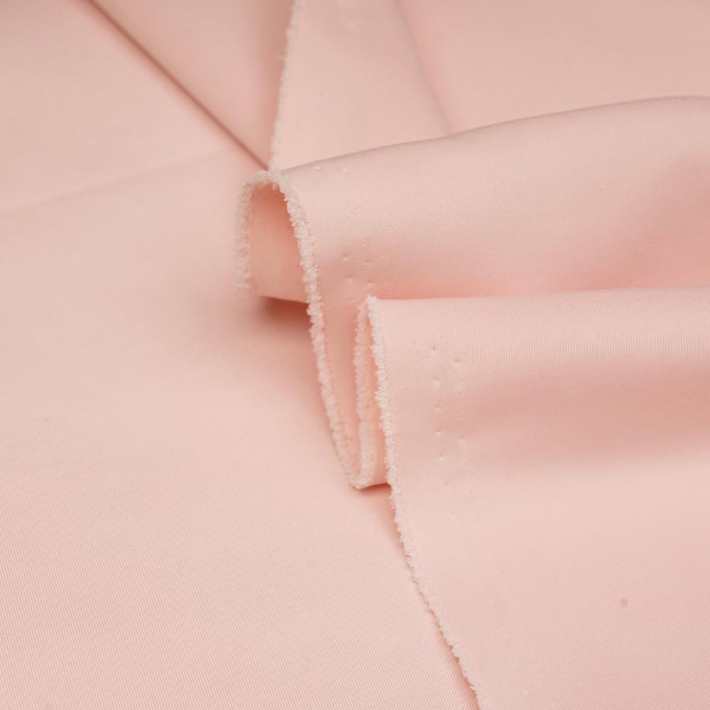 Tissu scuba effet Néoprène rose blush - pretty mercerie - mercerie en ligne