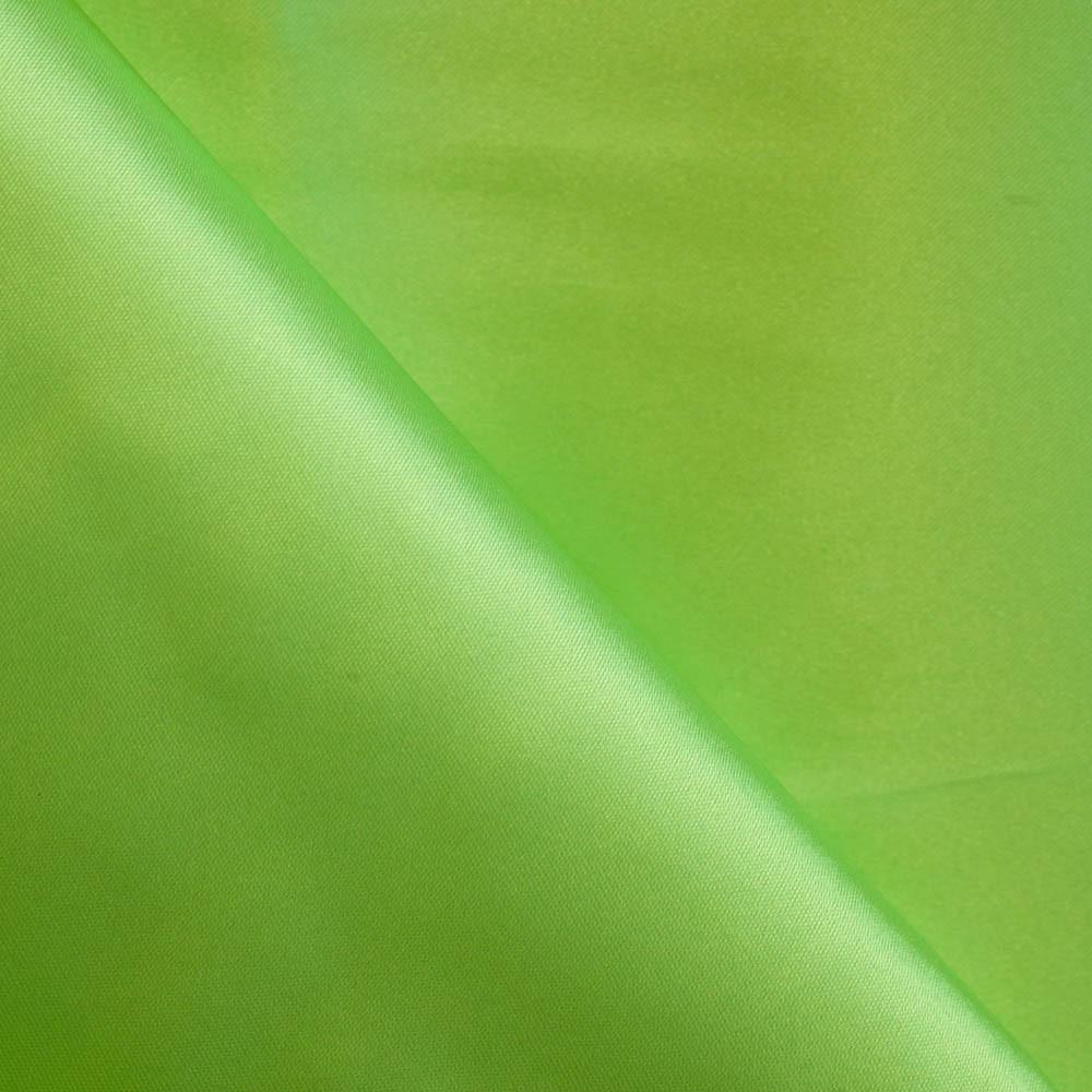 Doublure polyester vert anis