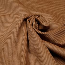 Tissu velours côtelé coton cashew - mercerie en ligne - pretty mercerie