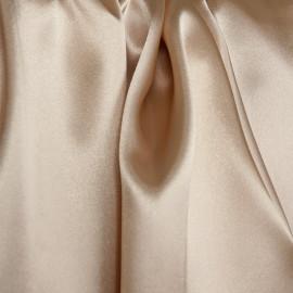 Doublure satin polyester sable - pretty mercerie - mercerie en ligne