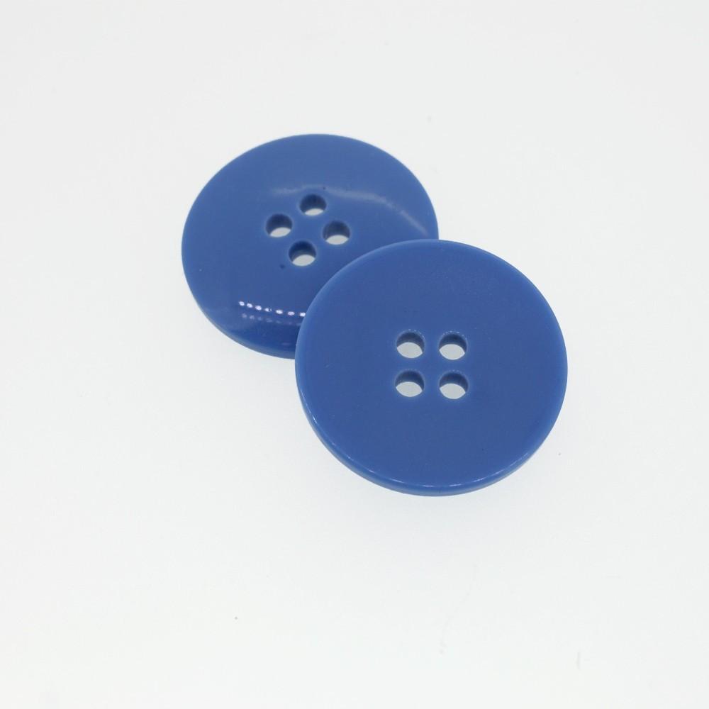 Bouton rond bleu de france