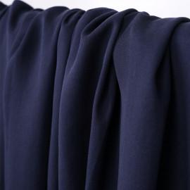Tissu tencel sergé bleu marine - pretty mercerie - mercerie en ligne