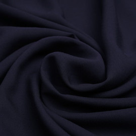Tissu Tencel sergé bleu nuit - pretty mercerie - mercerie en ligne
