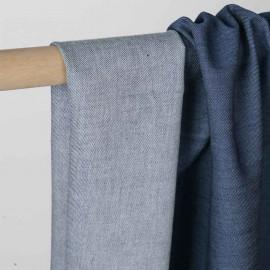 Tissu toile denim federal blue   Pretty Mercerie   mercerie en ligne