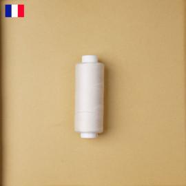 Fil à coudre blanc cassé ténacité 500 m   fabrication française   pretty Mercerie   Mercerie en ligne