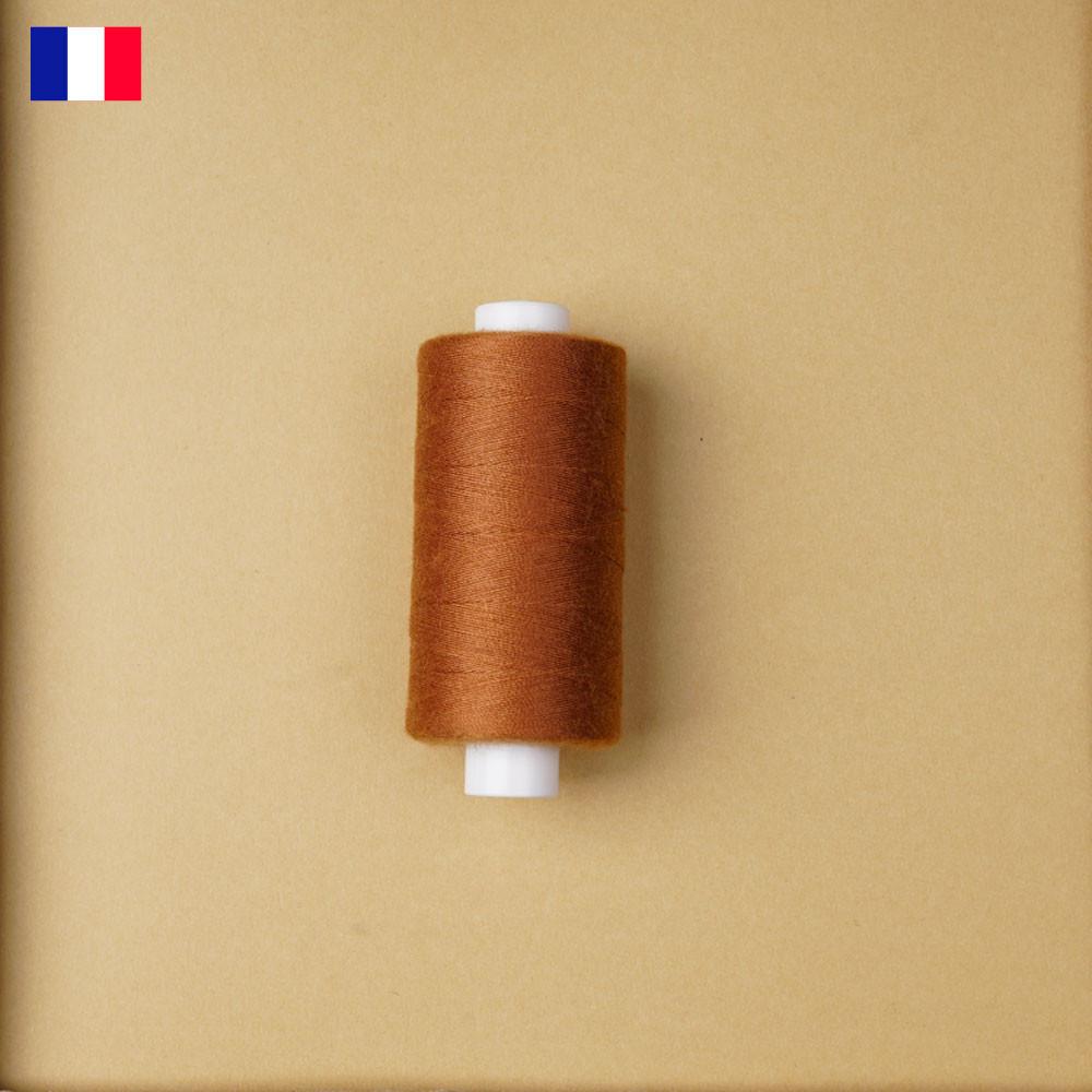 Fil à coudre sudan brown ténacité 500 m   fabrication française   pretty Mercerie   Mercerie en ligne