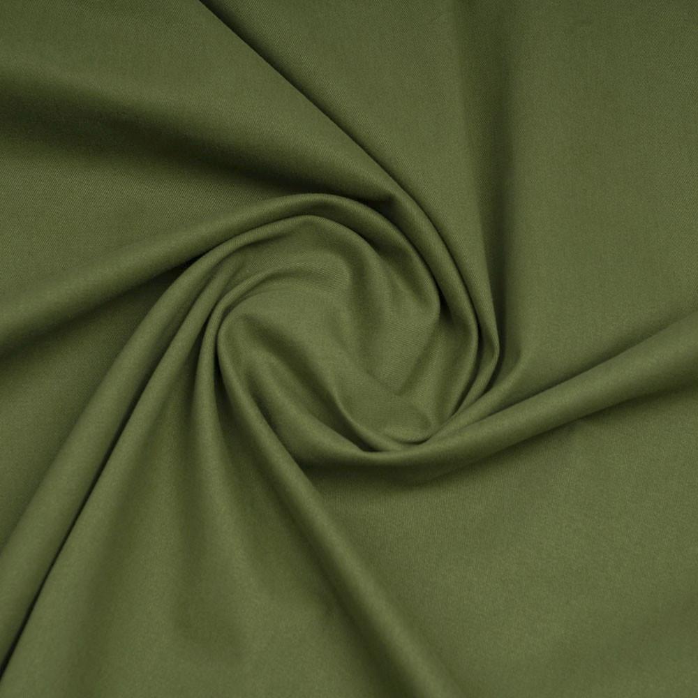 Tissu denim chino pesto - pretty mercerie - mercerie en ligne