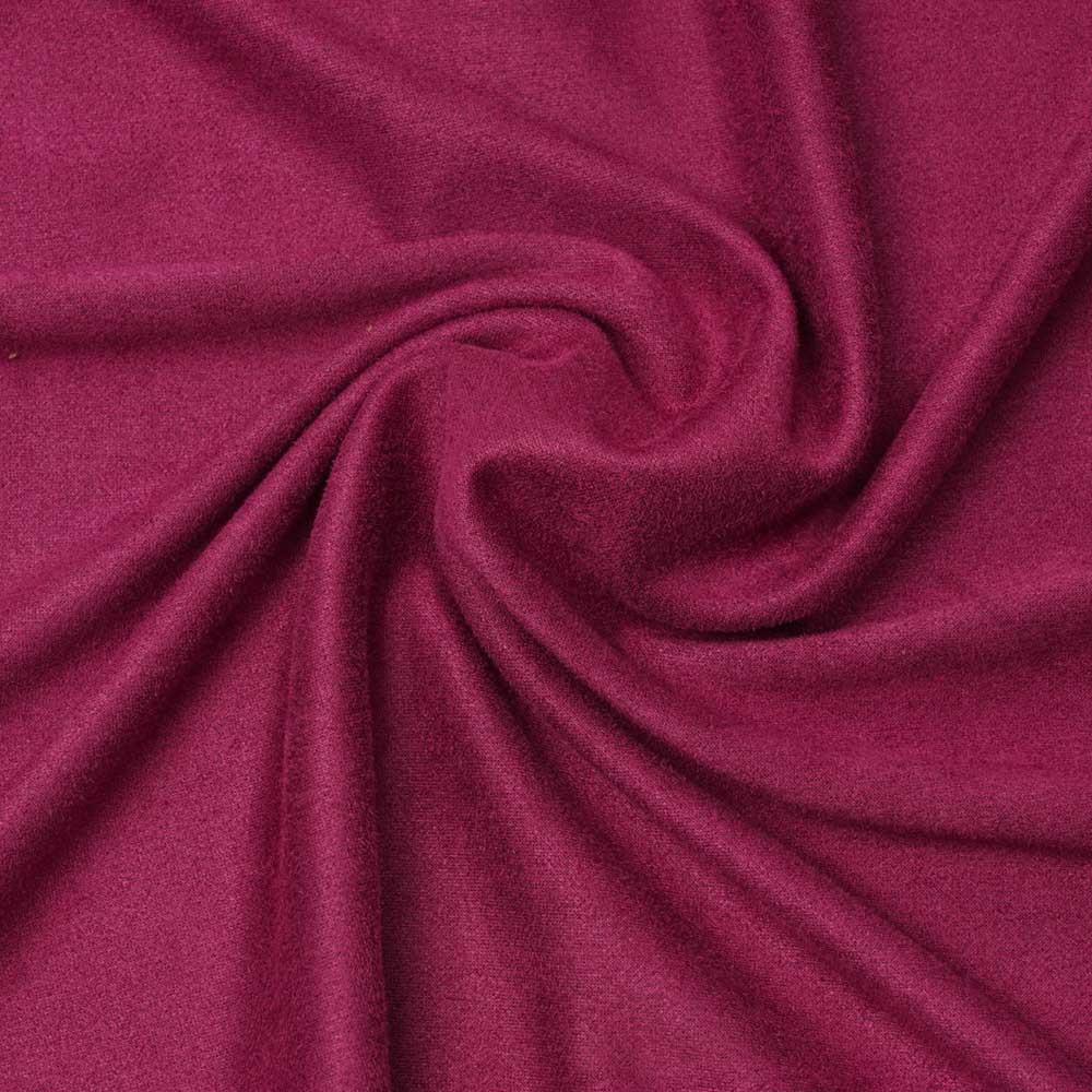 Tissu suédine sangria | Pretty Mercerie | mercerie en ligne