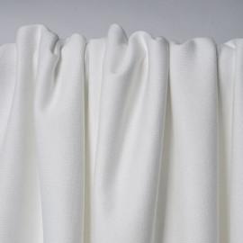 Tissu molleton 100% coton bio blanc | Pretty Mercerie | mercerie en ligne