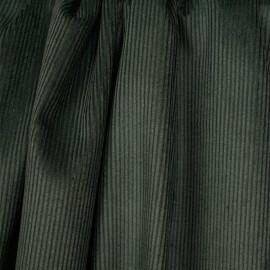 Tissu velours côtelé coton vert kaki | pretty mercerie | mercerie en ligne