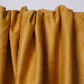 Tissu suédine ocre | Pretty Mercerie | mercerie en ligne