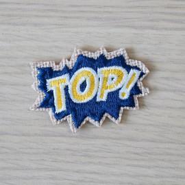 Badge brodé Bulldog