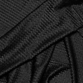 achat TISSU MAILLOT DE BAIN CHEVRON noir - Pretty Mercerie - mercerie en ligne